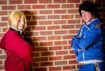 FMA - Edward Elric and Roy Mustang by MadameTerraLupus