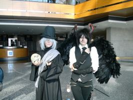Undertaker N' Demon Sebastian - Youmacon 2011 by Kamishu