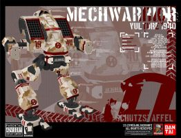 MechWarrior: Vulture by pzUH