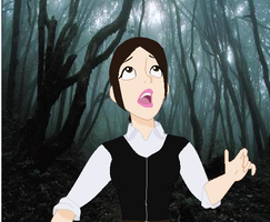 hobbit oc Elfin: guess what she found? by art-is-my-bream