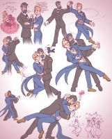 Chapter 9 Dance Sketches SLASH by LadyKeane