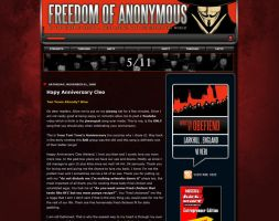 Guy Fawkes Blogger Templates by obefiend