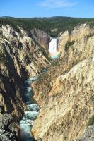 Yellowstone National Park Waterfall2 by Trisaw1