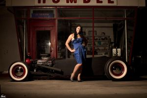 Fast Cars and Cool Women by TattedMotorHead