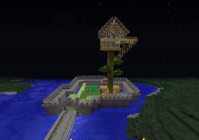 My current survival world by Decemator884