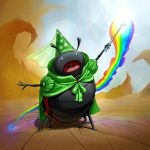 Magical Lady Bug Rainbow Fairy Princess by Darkodev