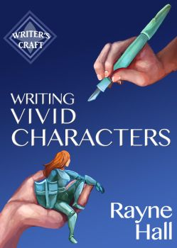 Book Cover - Writing Vivid Characters by RayneHall
