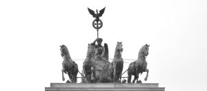 The Quadriga of Brandenburger Gate by ThoughtMemory