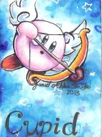 Kirby the Cupid by dragonwarriorsgalore