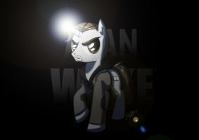 Alan Wake MLP style by GalooGameLady