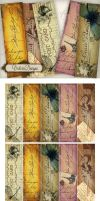 Printable Bookmarks Vintage post by VectoriaDesigns