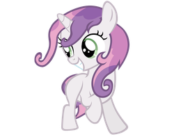 Wet Mane Sweetie Belle Vector by ikillyou121