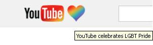 YouTube Celebrates LGBT Pride! by Blood-Red-Cure