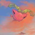 Hoppip request by PinkGermy