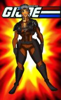 Gi Joe Slipstream superbuff females version by RWhitney75