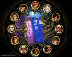 The Doctors' Clock by killashandra-falta