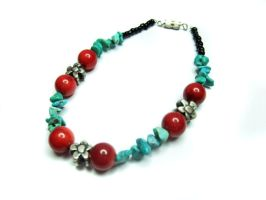 Spring Berries Bracelet by MyArtself