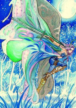 ACEO_Snow Butterfly by Eye-X-catcher