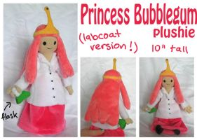 Princess Bubblegum in labcoat doll by scilk