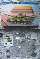 Chinese ZTZ-99 and kit Contents by Tank-Dragon2014