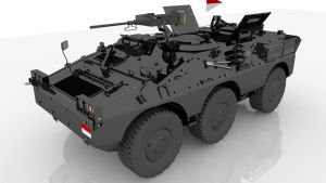 Puma 6x6 Mortar by babalizm