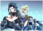 FF7: lean by DarkLitria