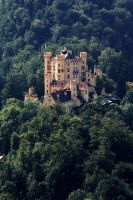 Hohenschwangau by theWitchofGrich