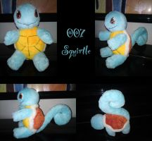 Squirtle plush by nfasel