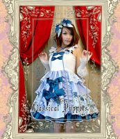 Classical Puppets Sweet Bowknot Lolita Dress by miccostumes