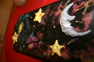 Cosmic Wall Plaque by souffle-etc