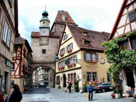 Rothenburg by puddlz