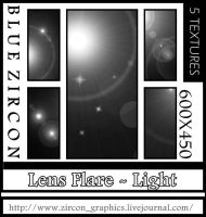 Lens Flare Textures 02 by bluezircon-graphics