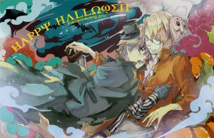 APH: happy hallowen by fredericayang