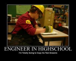 Engineer In Highschool by Cathat10