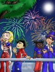 Happy 4th of July by Kissu-Kisshu