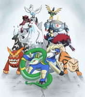 Pokemon: My Gen V Teams by Arabesque91