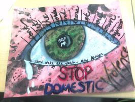 Stop Domestic Violence by kapowchess