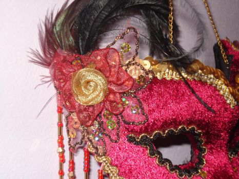 MaskStockDetails by MadamGrief-Stock