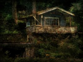 Spooky House by lichtschrijver