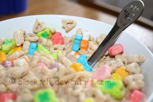 Lucky Charms___marshmallowsII by blackself