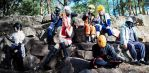 Our Naruto cosplay group !! by CosmicNya