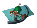 AT: York the Echidna by AbsoluteDream