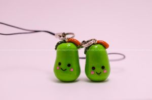 Pear Charms by stereometric