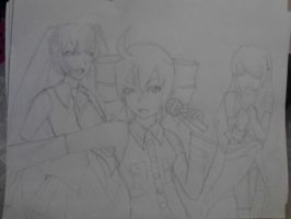 VOCALOID - The Battle to be the Best! WIP by CrypticGrin