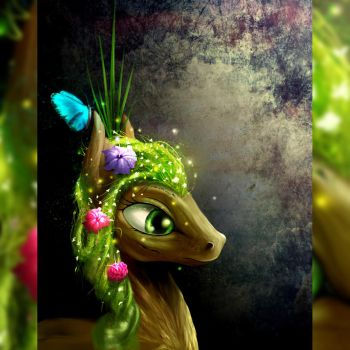 Dryad Pony by akurion