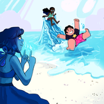 Lapis and Friends by mewsingmage