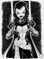 Sketch 042 of 100 ASAJJ VENTRESS by misfitcorner