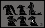 Crow People by Chirko