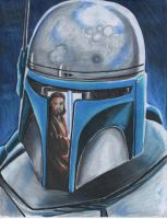 STAR WARS Jango fett by angell35art