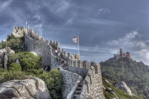 Castelo dos Mouros - Panorama by goncalo-lopes